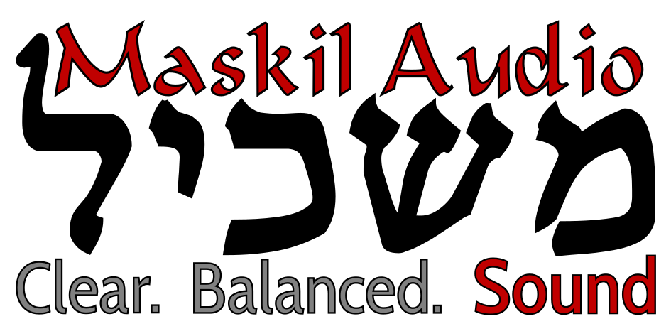 Maskil Audio Logo